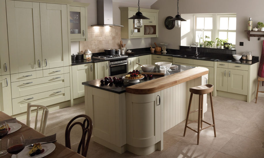 quality kitchen doors nottingham cream finish