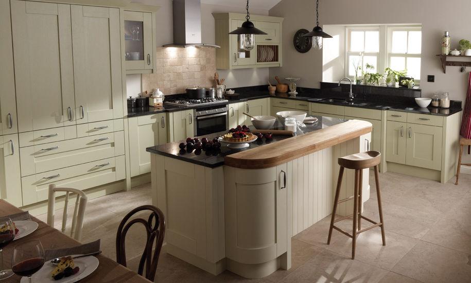 quality kitchen doors nottingham cream finish